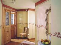 kreative wandgestaltung mit lesando lehmstreichputz. Black Bedroom Furniture Sets. Home Design Ideas